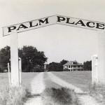 gate of palm prop bw